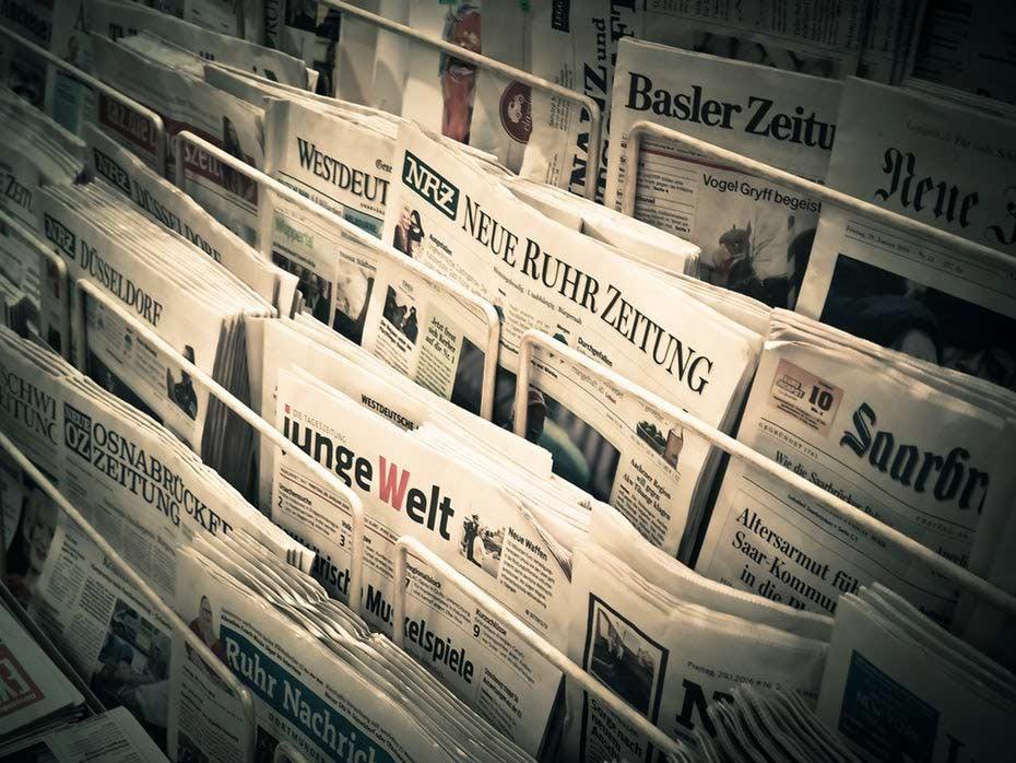 چاپ روزنامه